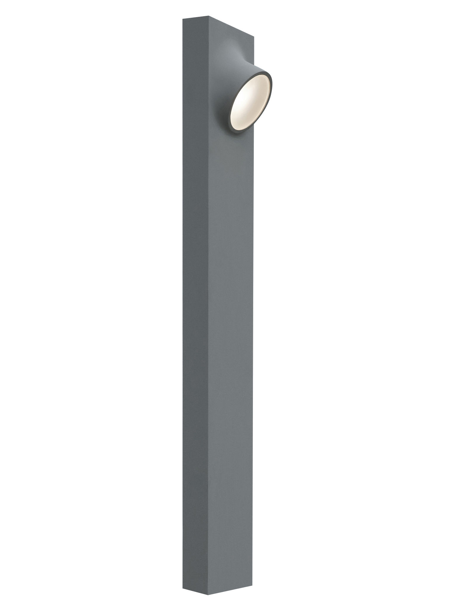 Illuminazione - Illuminazione da esterni - Lampada a stelo Ciclope Double LED - / esterno - H 90 cm di Artemide -  - Alluminio galvanizzato