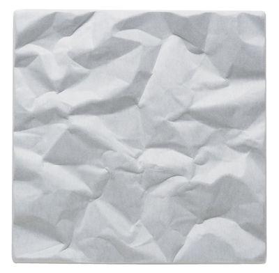 Image of Pannello acustico a muro Soundwave Scrunch di Offecct - Bianco - Materiale plastico