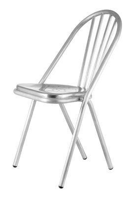 Arredamento - Sedie  - Sedia Surpil n° SL 11 di Surpil - Argento - Alluminio
