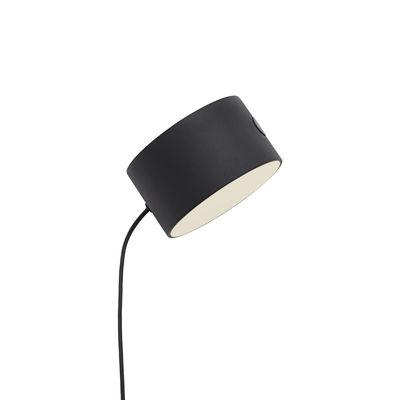 Luminaire - Lampadaires - Spot LED supplémentaire / Pour lampadaire & applique Post - Muuto - Noir - Métal