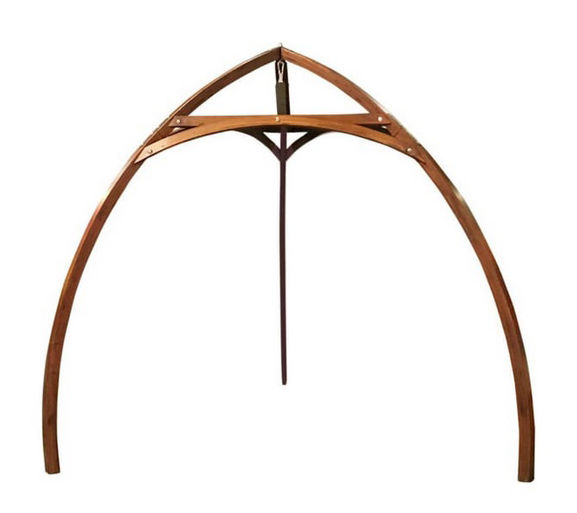 Furniture - Coat Racks & Pegs - Structure - to hang up Cacoon tents by Cacoon - Natural wood - Wood