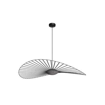 Luminaire - Suspensions - Suspension Vertigo Nova LED / Ø 140 cm - Petite Friture - Noir - Fibre de verre, Polyuréthane, Verre triplex