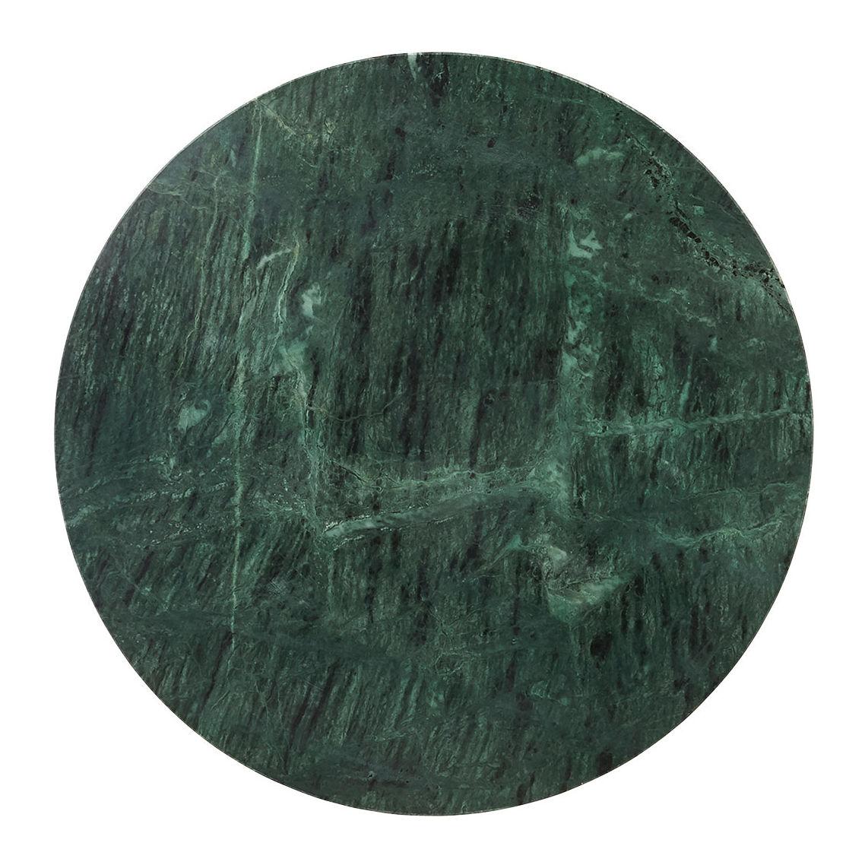 Table Basse The Green House Doctor Marbre Vert Noir H 45 X ø