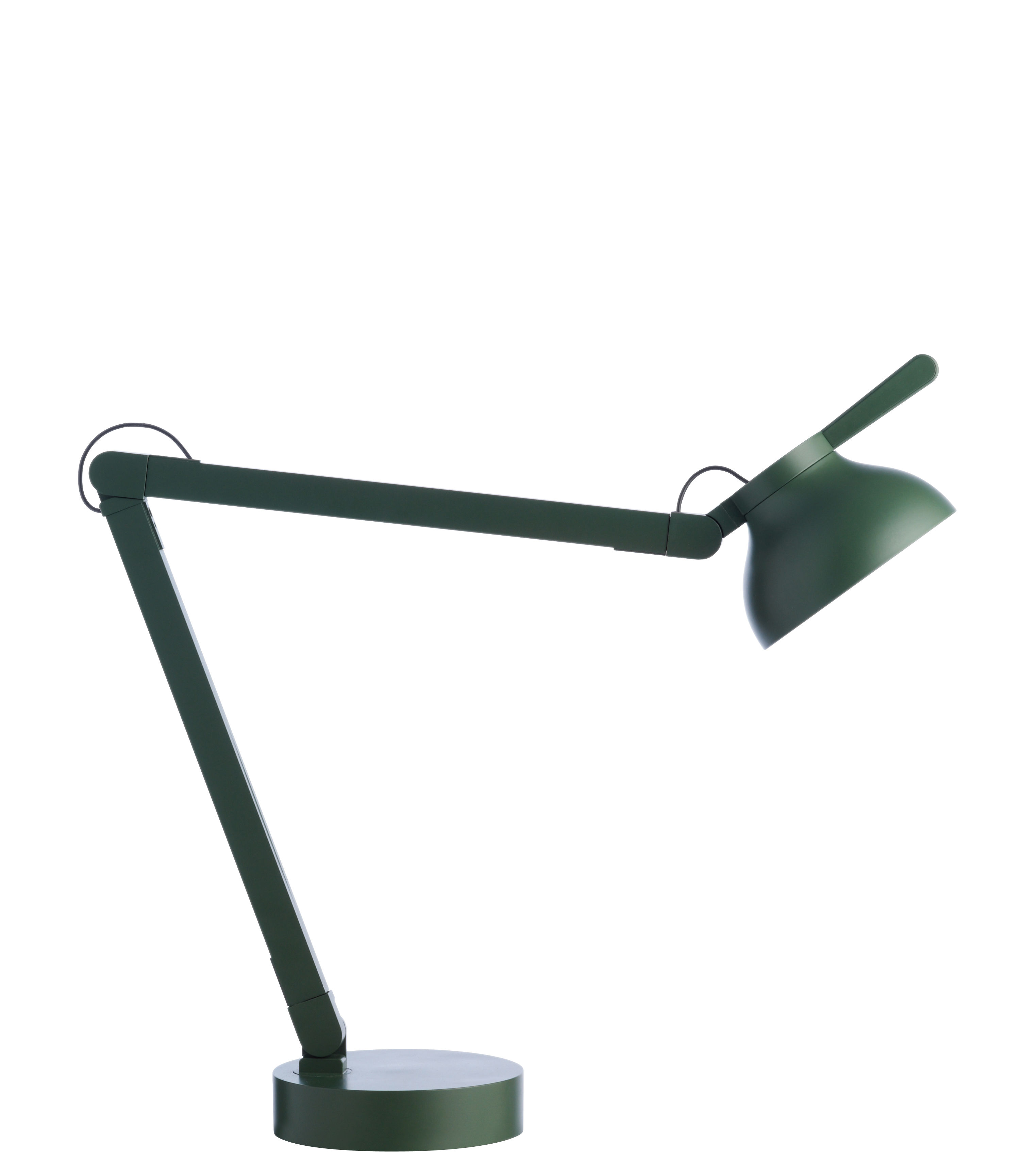 Lighting - Table Lamps - PC Table lamp - by Pierre Charpin by wrong.london - Green - Cast iron, Extruded aluminium, Polycarbonate