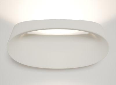 Lighting - Wall Lights - Bonnet Wall light by Fontana Arte - White - Aluminium, Technopolymer