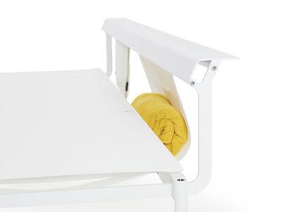 Outdoor - Chaises longues et hamacs - Accessoire canapé / Filet de rangement pour bain de soleil Australis - Extremis - Blanc - Toile
