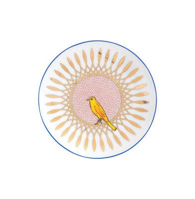 Arts de la table - Assiettes - Assiette à dessert Bel Paese - Uccellino / Ø 12 cm - Bitossi Home - Oiseau - Porcelaine