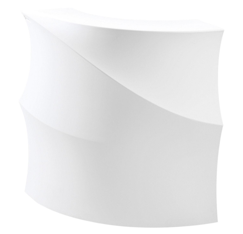 Mobilier - Mange-debout et bars - Bar lumineux Baraonda / Module d'angle avec plan de travail + étagère - LED RVB - MyYour - Bar d'angle lumineux RVB -