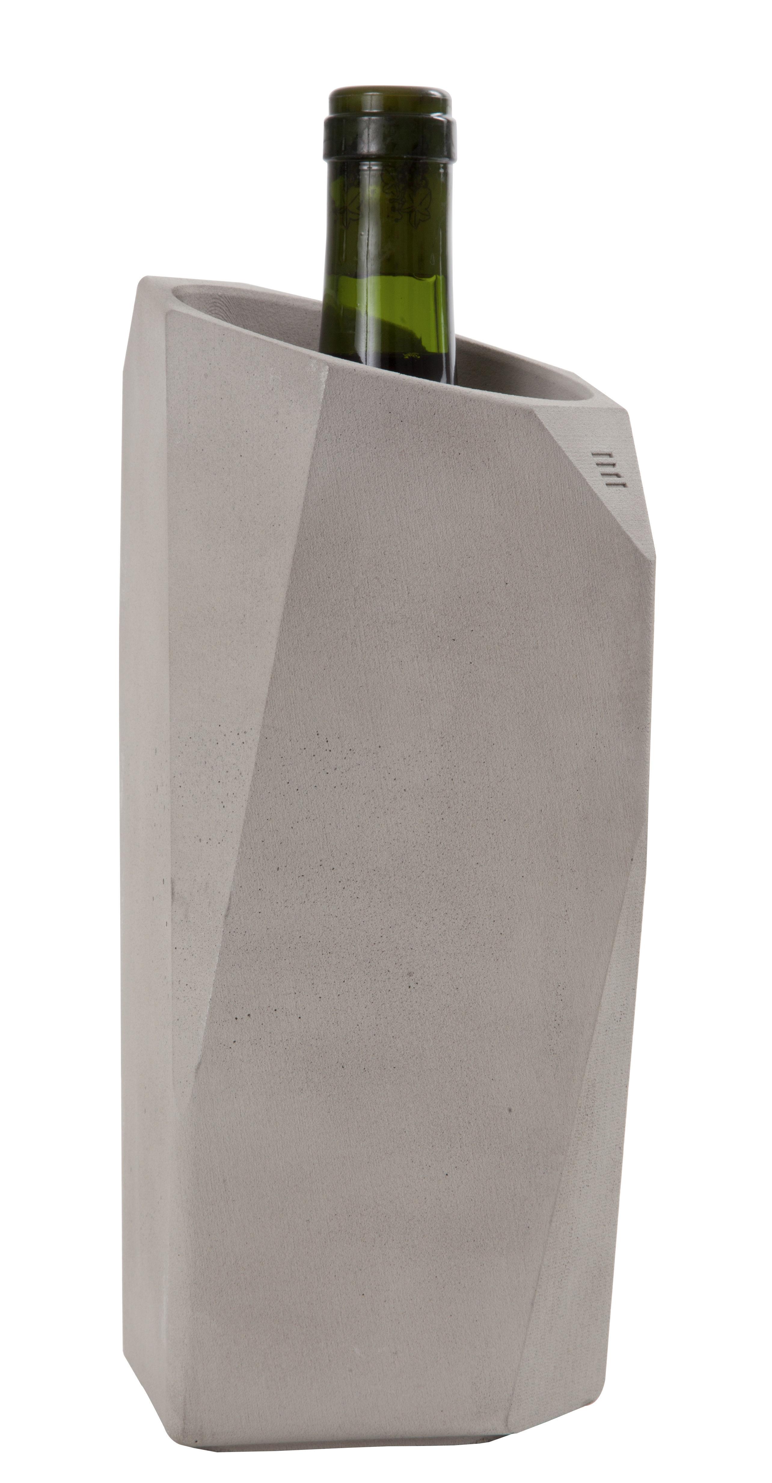 Tableware - Wine Accessories - Wine Cooler Bottle cooler - Stackable by Spécimen Editions - Grey - Concrete