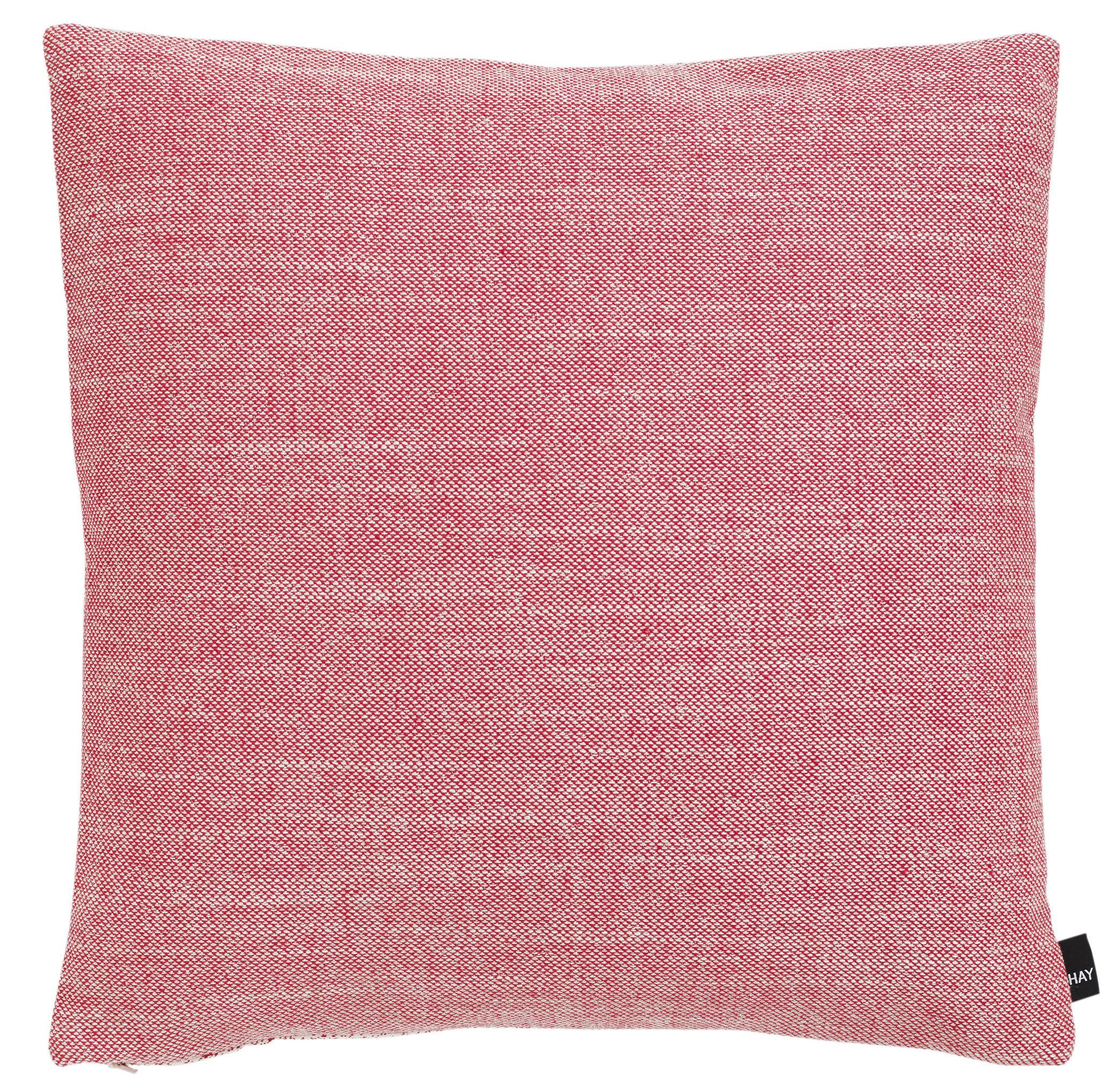 Déco - Coussins - Coussin Eclectic / 50 x 50 cm - Hay - Rose - Laine, Plumes, Polyester