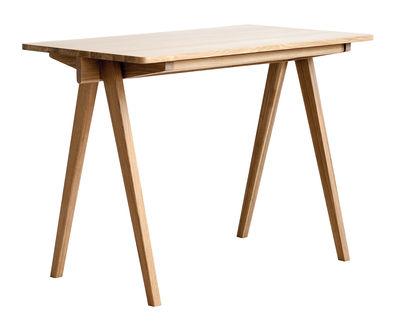 Furniture - Office Furniture - Pero Desk - Oak / Drawer by Ercol - Oak - Solid oak