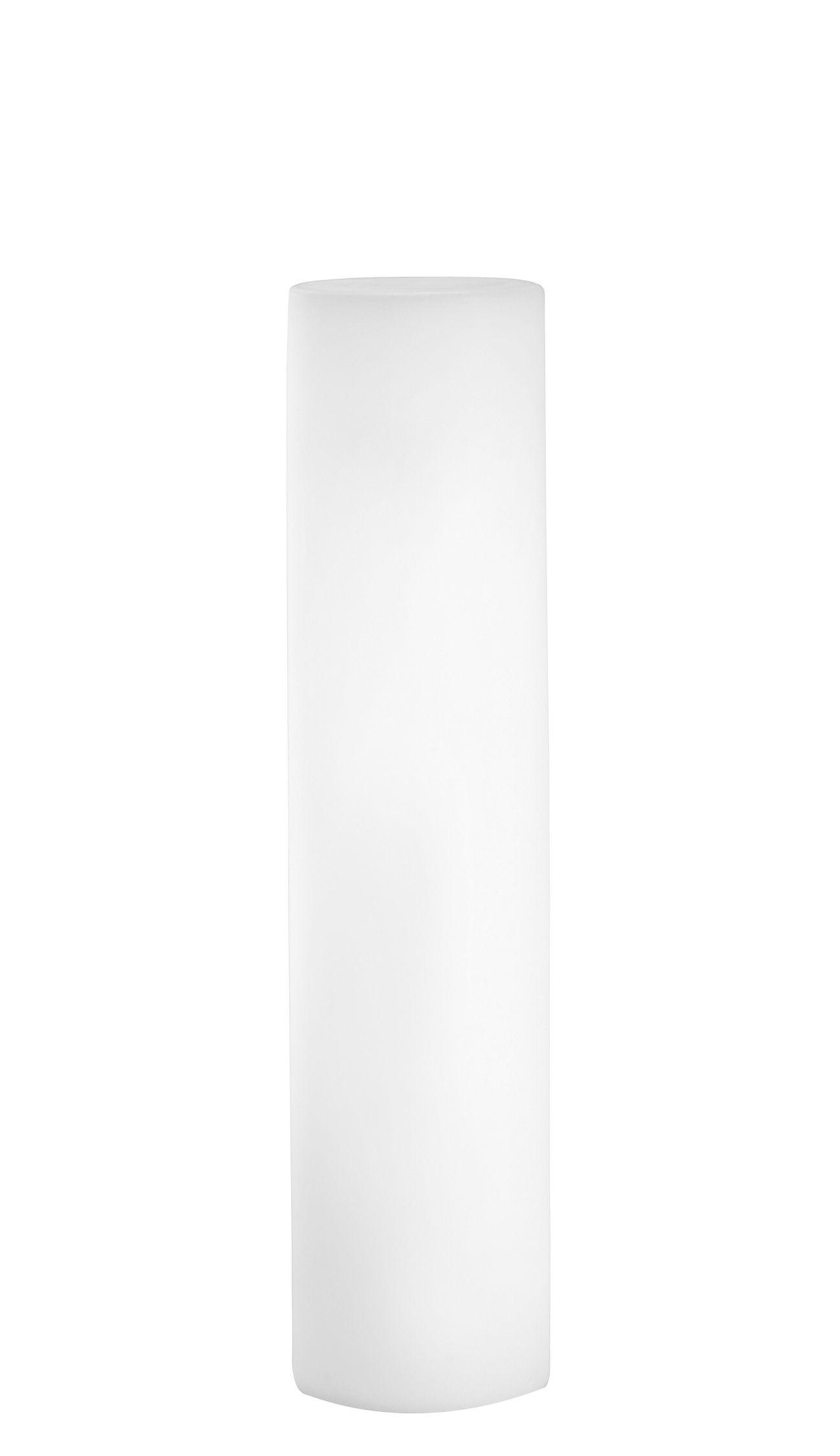 Luminaire - Lampadaires - Lampadaire Fluo - Slide - Blanc - H 130 cm - Polyéthylène