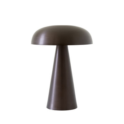 Luminaire - Lampes de table - Lampe sans fil Como SC53 / LED - Aluminium - H 21 cm - &tradition - Bronze - Aluminium extrudé