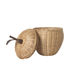 Panier Apple Small / Osier - Ø 20 x H 28 cm - Ferm Living