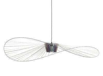 Lighting - Pendant Lighting - Vertigo Large Pendant - / Ø 200 cm by Petite Friture - Scarab beetle (iridescent black) - Fibreglass, Polyurethane