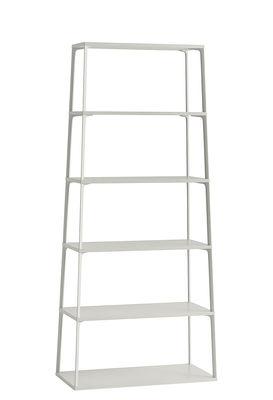 Möbel - Regale und Bücherregale - Eiffel Regal / 6 Ablagen  - H 182 cm - Hay - Sandfarben - lackierte Holzfaserplatte, lackiertes Aluminium