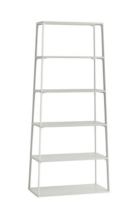 Arredamento - Scaffali e librerie - Scaffale Eiffel - / 6 piani - H 182 cm di Hay - Sabbia - Alluminio laccato, MDF laccato