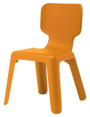 Arredamento - Mobili per bambini - Sedia per bambino Alma di Magis Collection Me Too - Arancione - Polipropilene