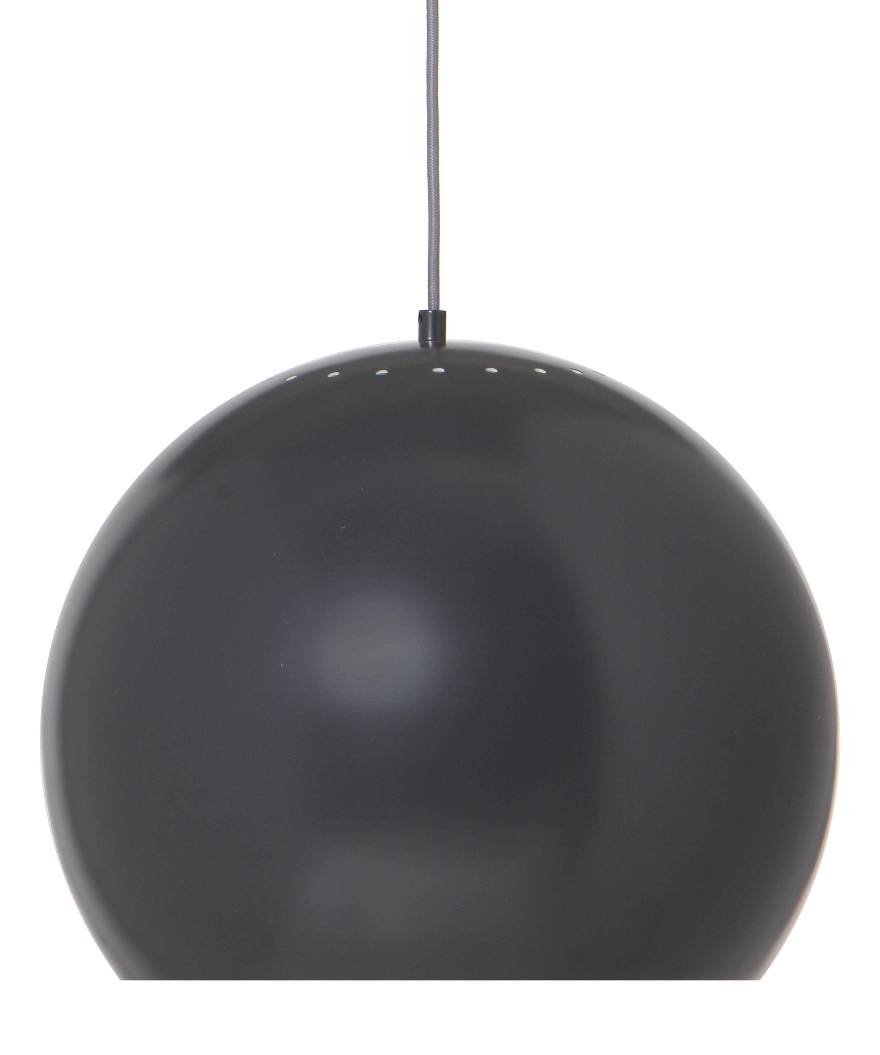 Luminaire - Suspensions - Suspension Ball Large / Ø 40 cm - Réédition 1968 - Frandsen - Gris mat - Métal verni