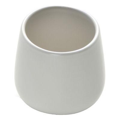 Arts de la table - Tasses et mugs - Tasse à café Ovale - Alessi - Blanc - Céramique Stoneware