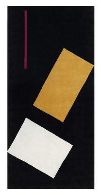 Bonaparte Teppich / Neuauflage von Originalen aus dem Zeitraum 1925-1935 / handgeknüpft - ClassiCon - Weiß,Schwarz,Fuchsia,Beige