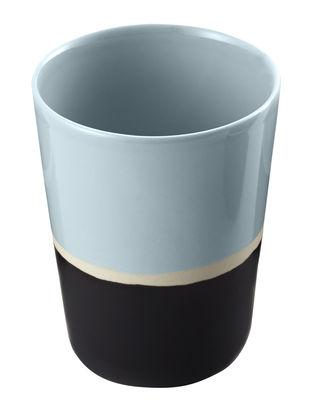 Verre Sicilia - Maison Sarah Lavoine blanc,noir,pousse de tilleul en céramique