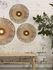 Kalimantan Wall light with plug - / Bamboo - Ø 60 cm by GOOD&MOJO