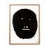 Affiche encadrée Pierre Charpin - Wise Monkey / Edition limitée & numérotée - 50,6 x 66,5 cm - The Wrong Shop