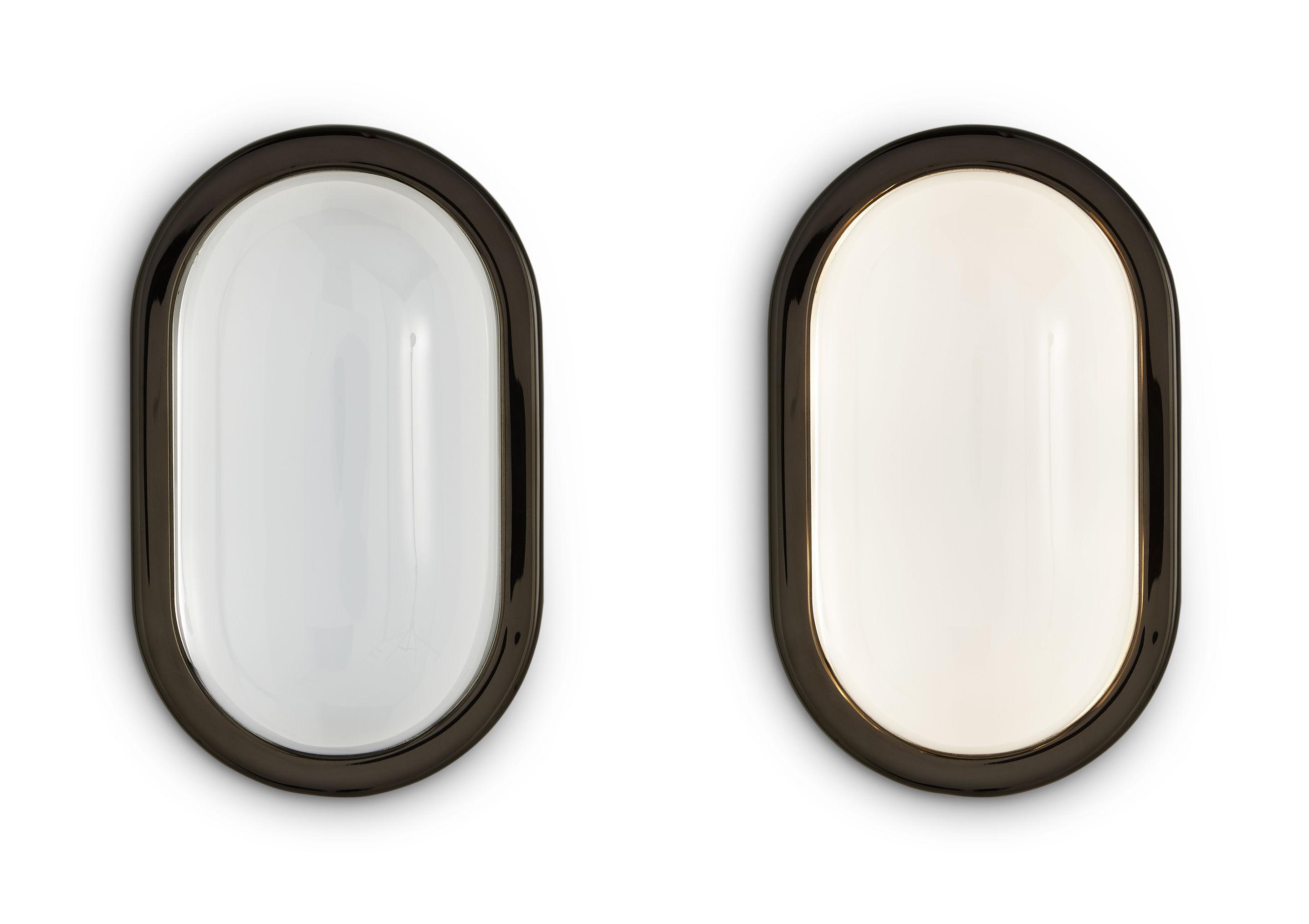 Applique spot tom dixon noir brillant l h made in design