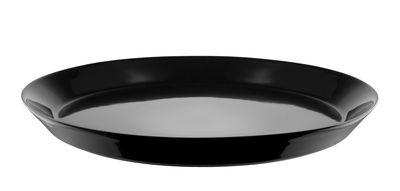 Assiette Tonale / Ø 26,5 cm - Alessi noir en céramique