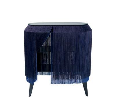 Mobilier - Tables basses - Buffet Baby Alpaga / Etagère - L 66 x H 72 cm - Ibride - Bleu électrique - Stratifié massif, Viscose