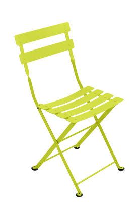 Chaise enfant Tom Pouce / Pliante - Acier - Fermob verveine en métal