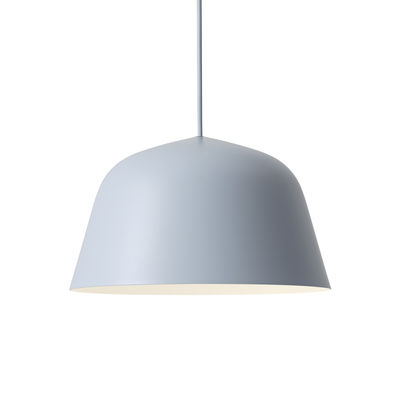 Lighting - Pendant Lighting - Ambit Pendant - / Ø 25 cm - Metal by Muuto - Light blue - Aluminium