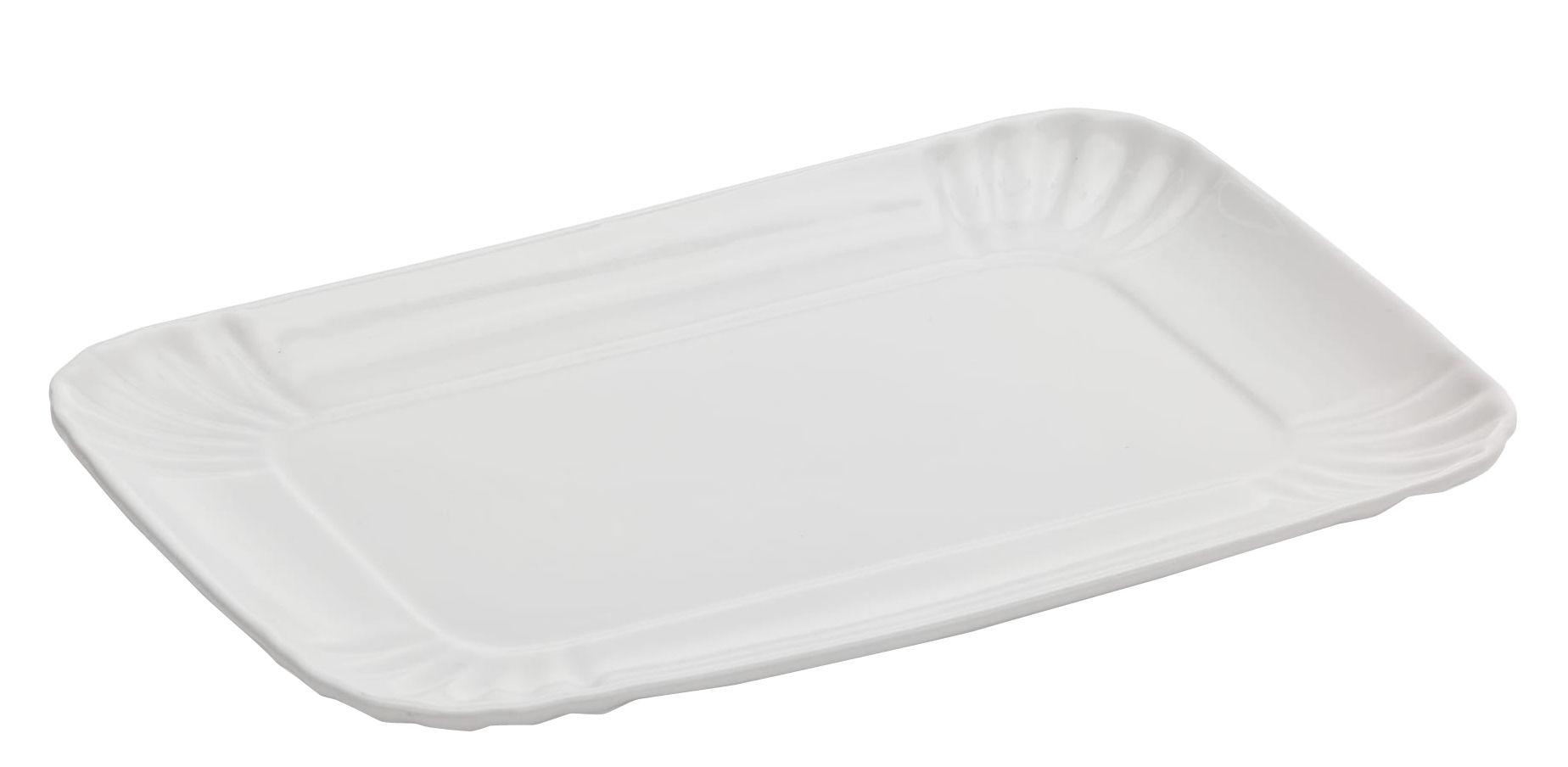 Arts de la table - Couverts de table - Plateau Estetico Quotidiano / Medium - 18 x 27 cm - Seletti - Medium / 18 x 27 cm - Porcelaine