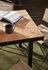 Flod Tiles Rectangular table - / 181 x 81 cm - Hand-made clay tiles by Ferm Living
