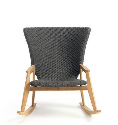 Prime Knit Rocking Chair Synthetic Rope By Ethimo Gamerscity Chair Design For Home Gamerscityorg