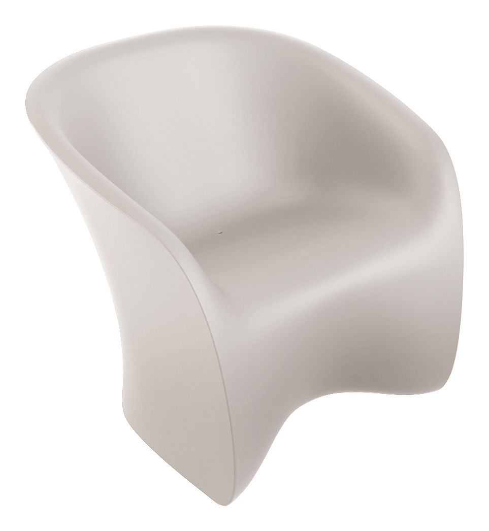 Möbel - Lounge Sessel - Nuvola Sessel - Zanotta - Weiß (durchscheinend) - Polyäthylen