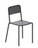 Ginger Stacking chair - / Micaceous grey by Zeus
