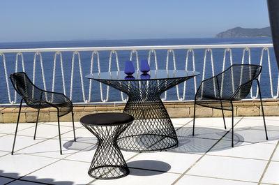 Table de jardin Heaven / Ø 80 - Emu aluminium en métal