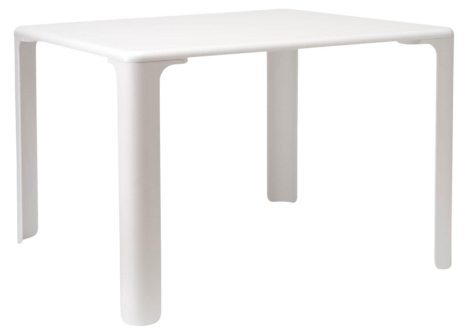 Mobilier - Mobilier Kids - Table enfant Linus 75 cm x 75 cm - Magis Collection Me Too - Blanc - MDF finition polymère, Polypropylène