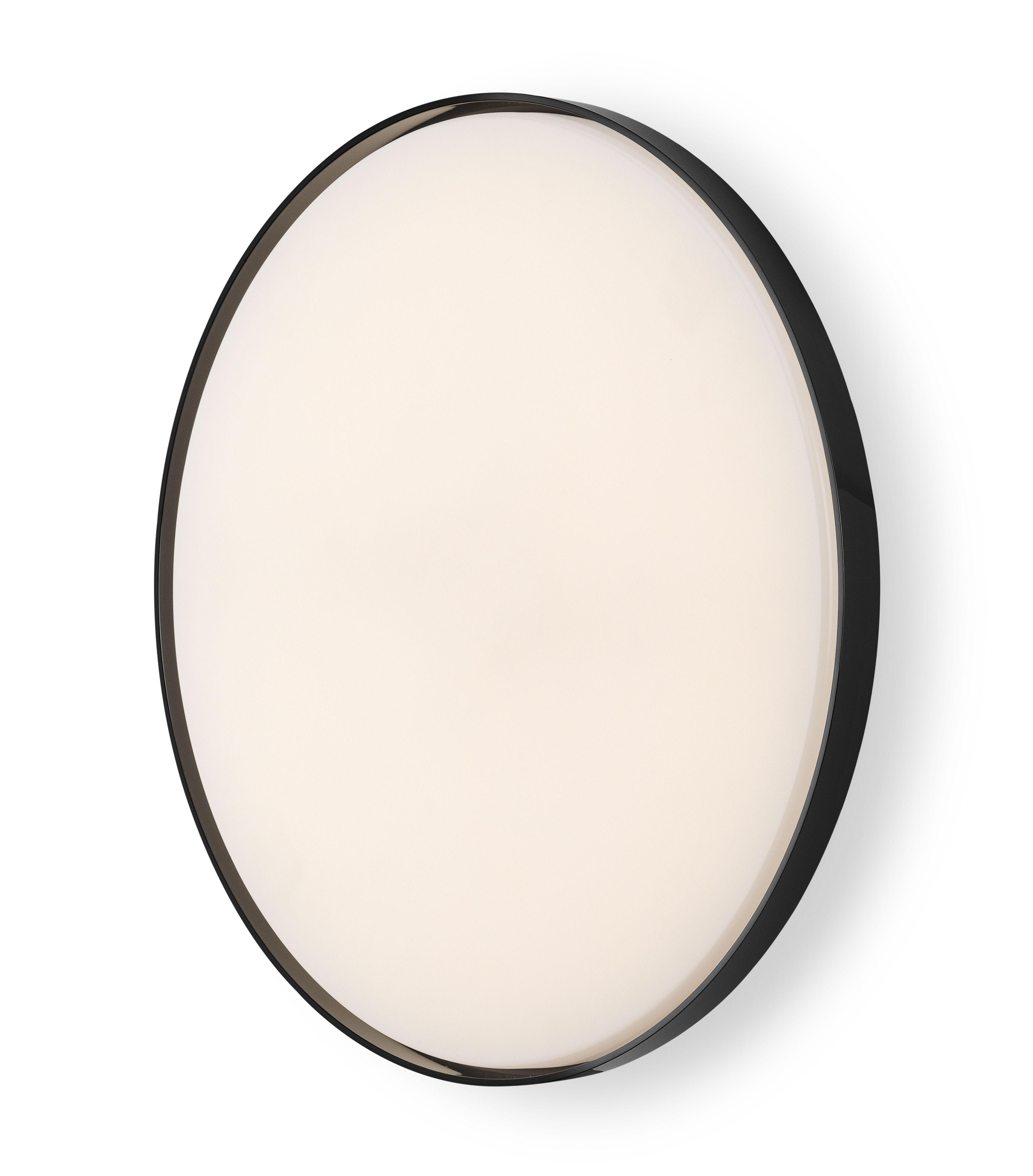 Luminaire - Appliques - Accessoire / Anneau pour applique Clara - Flos - Anneau noir - Polycarbonate