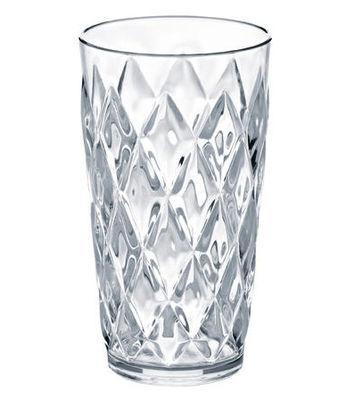 Tavola - Bicchieri  - Bicchiere da long drink Crystal di Koziol - Verre - Trasparente - Plastica