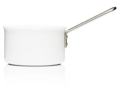 Cucina - Pentole, Padelle e Casseruole - Casseruola White Line - Padella 1,8L - ESCLUSIVA di Eva Trio - 1,8L - Bianco - Acciaio inossidabile, Alluminio, Ceramica
