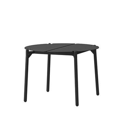 Furniture - Coffee Tables - Novo Coffee table - / Ø 50 x H 35 cm - Metal by AYTM - Black - aluminium, powder coating, Powder-coated steel
