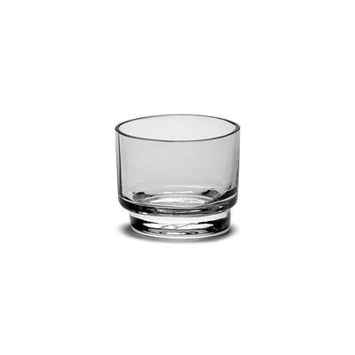 Tischkultur - Gläser - Inner Circle Glas / 15 cl - Glas - valerie objects - 15 cl / Rauchgrau - Glas