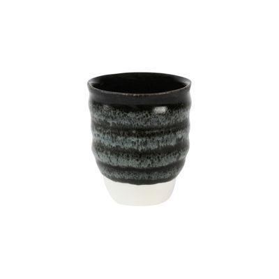 Arts de la table - Verres  - Gobelet Dashi / 30 cl - Grès fait main - Jars Céramistes - Charbon - Grès émaillé