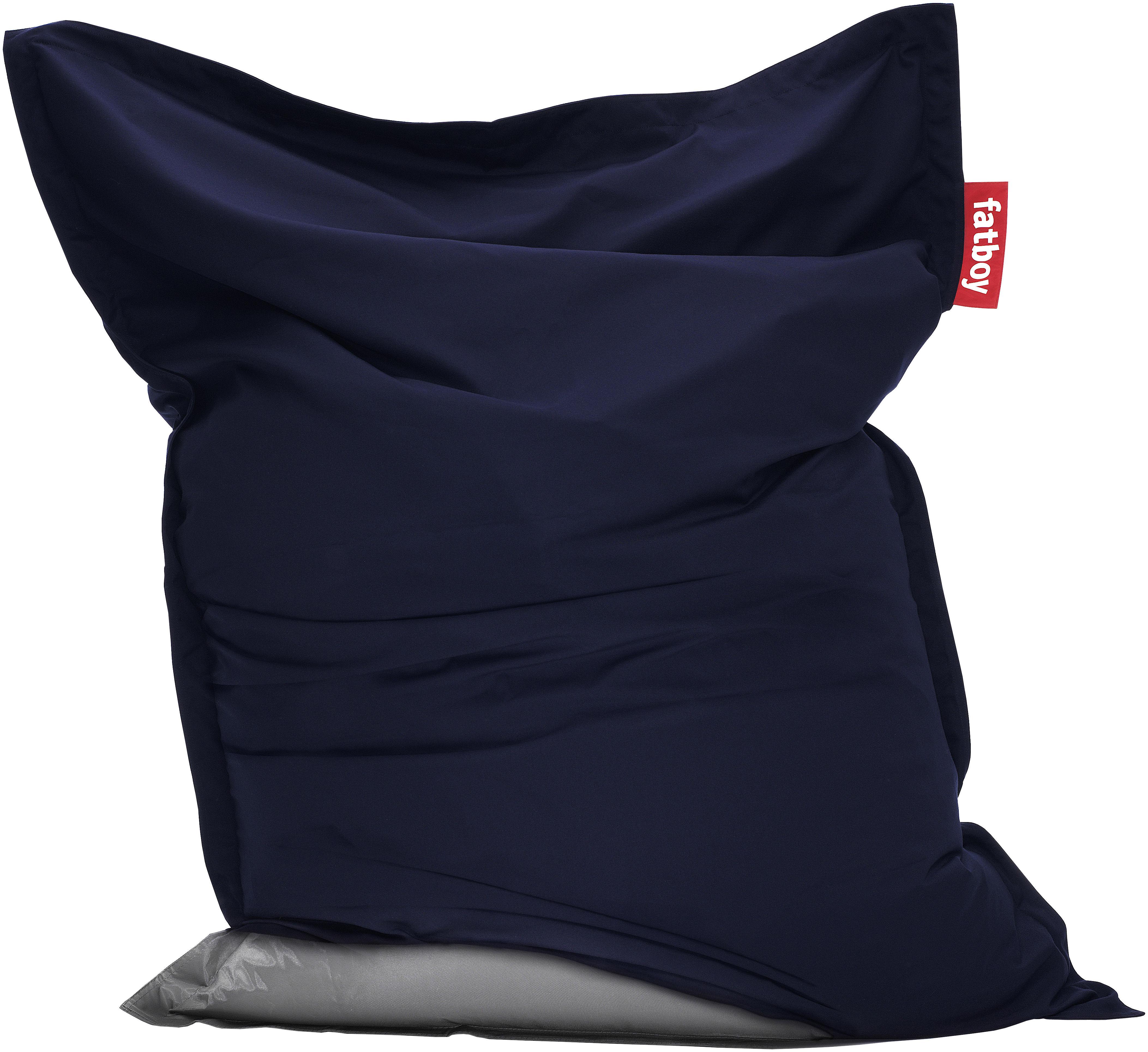 Housse Jacket / Pour pouf The Original Bleu marine   Fatboy   Made