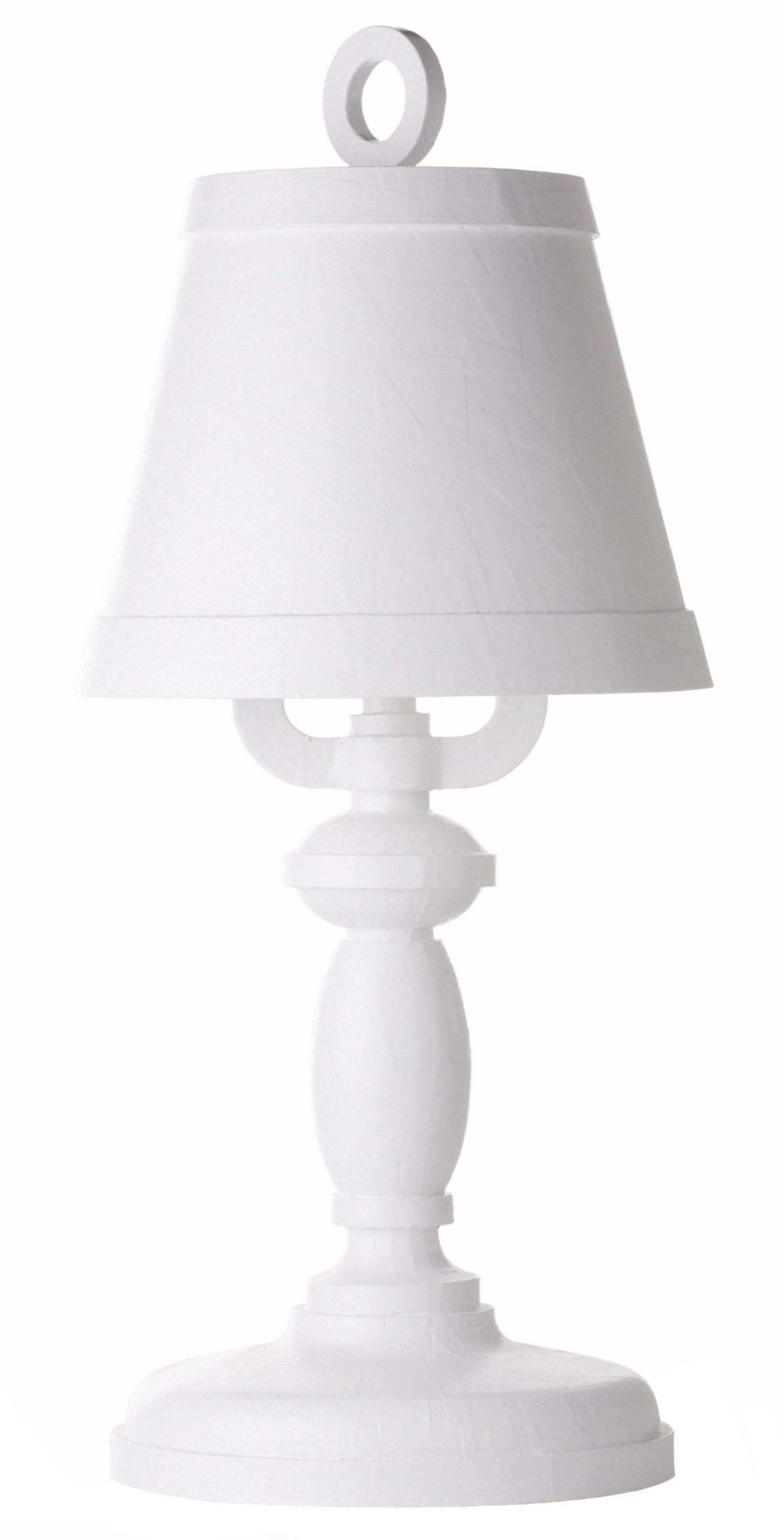 Luminaire - Lampes de table - Lampe de table Paper H 84 cm - Moooi - Blanc - Carton, Papier