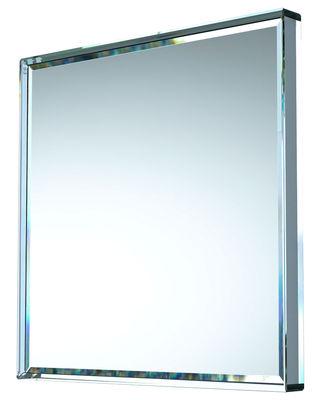 Miroir Prism carré / 99 x 99 cm - Glas Italia miroir en verre