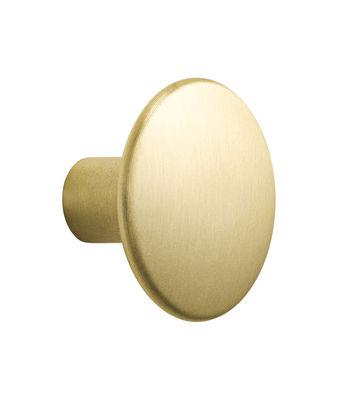 Patère The Dots Metal / Medium - Ø 3,9 cm - Muuto or/métal en métal